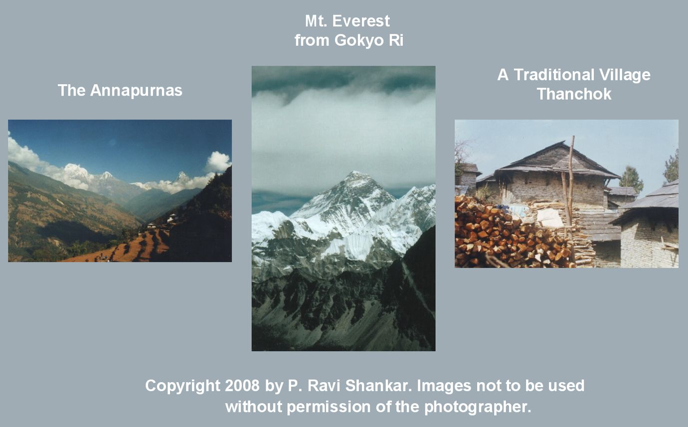 Composite Nepal Photgraphs by P. Ravi Shankar