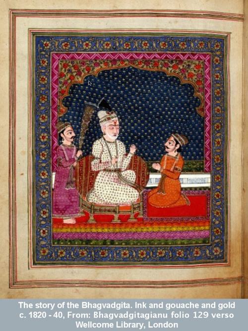 The story of the Bhagvadgita.