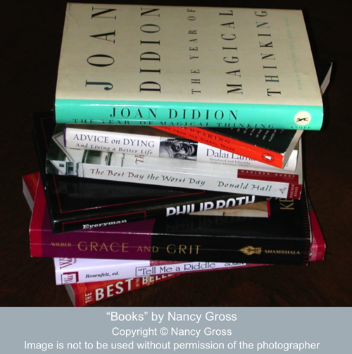"""Books"" by Nancy Gross"