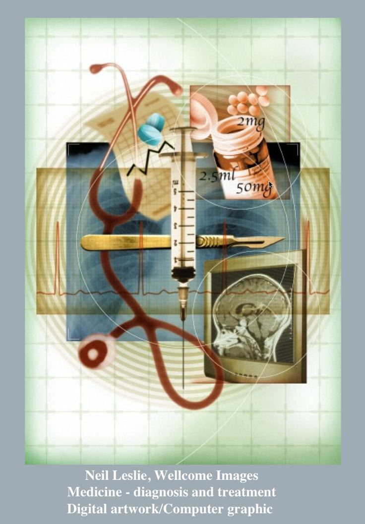 Neil Leslie, Wellcome ImagesMedicine - diagnosis and treatment, Digital artwork/Computer graphic