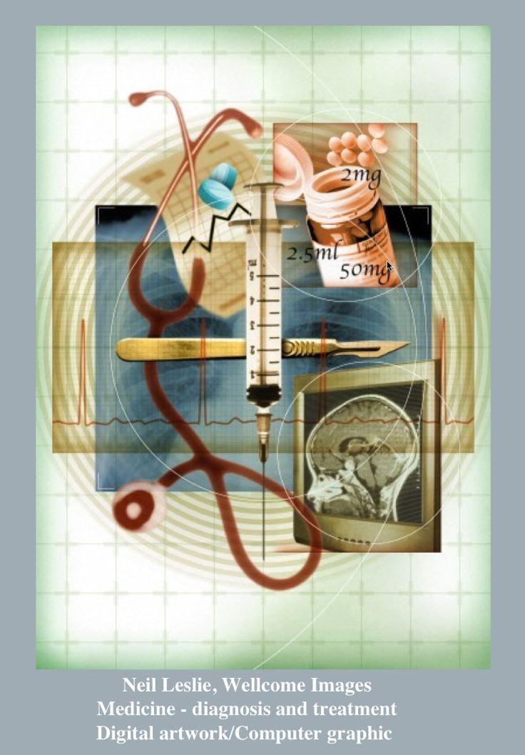 Neil Leslie, Wellcome ImagesMedicine - diagnosis and treatment, Digital artwork/Computer graphic