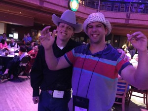 Nader and Josh at the Wildhorse